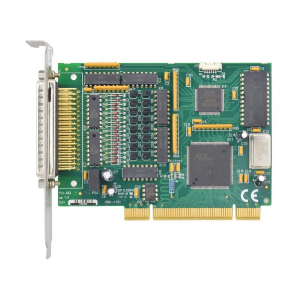 Top view of PCI-DIO