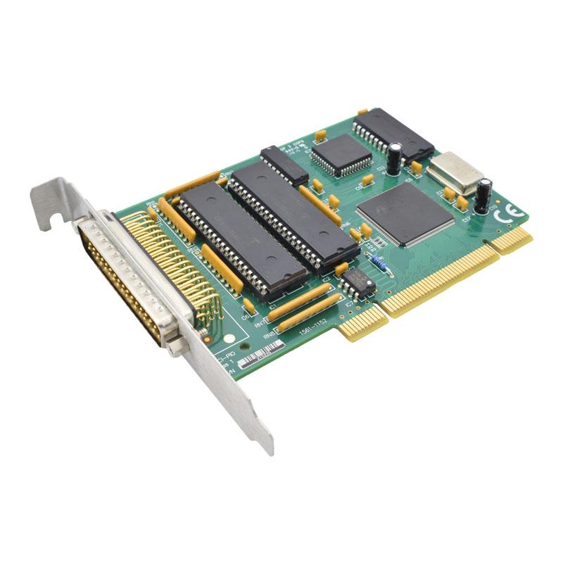45-degree view of PCI-PIO