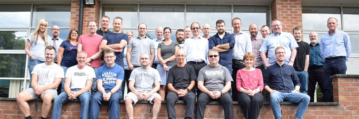 Blue Chip Technology staff group photo