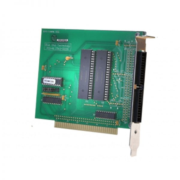 45-degree view of ISA-PIO board